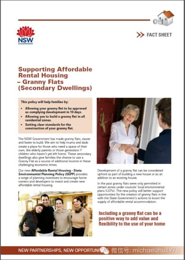 granny flat - affordable housing