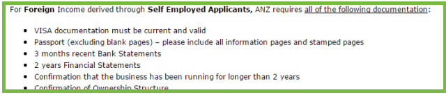 ANZ overseas income policy 2