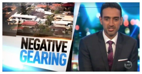 negative-gearing-in news